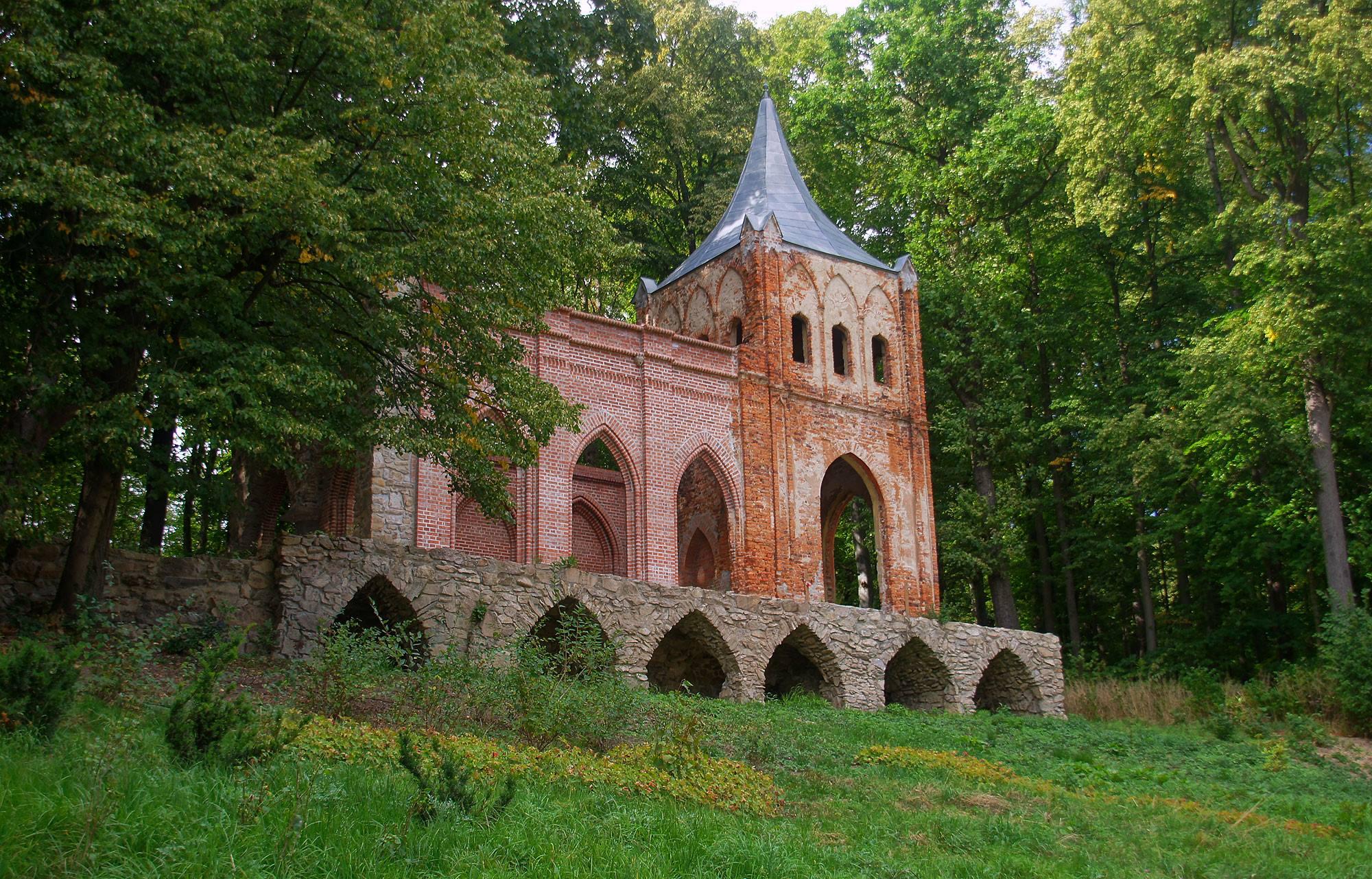 Pałac i Park Krajobrazowy w Bukowcu