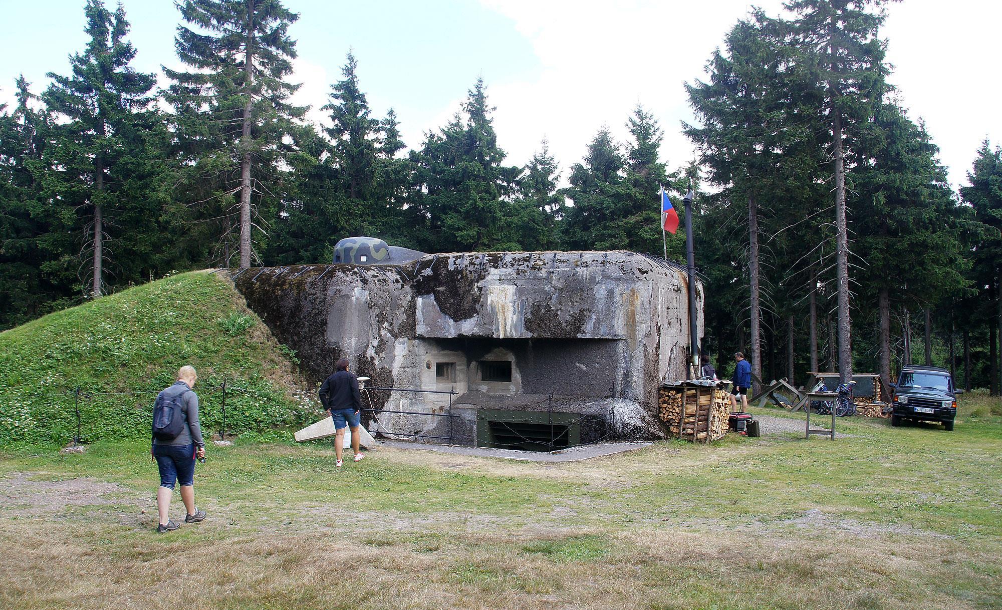 Orlické hory – bunkier Průsek