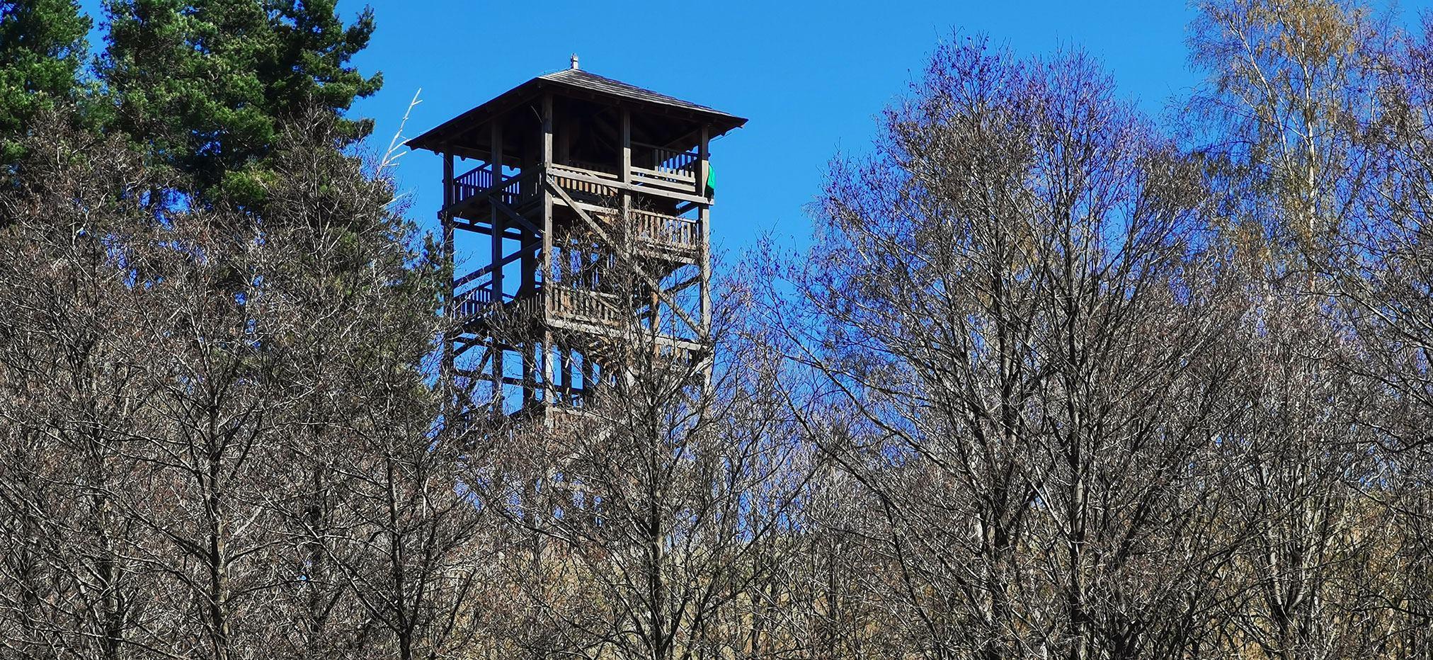 Wieża widokowa na Górze Parkowej w Mieroszowie