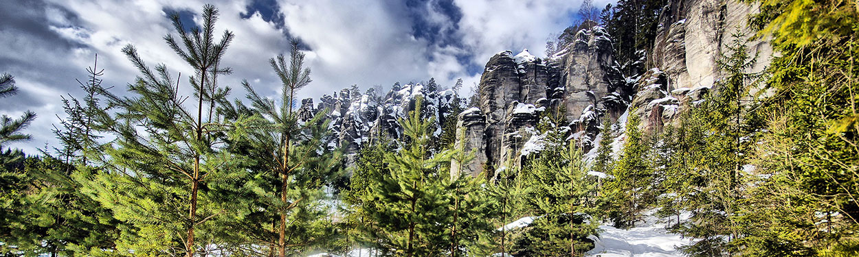 Góry Stołowe - Czechy
