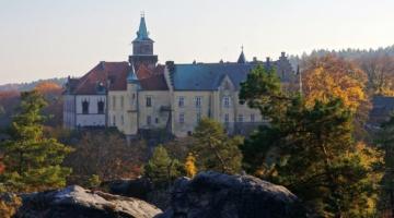Zamek Hrubá Skála