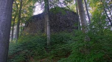 Ruiny zamku Szczerba